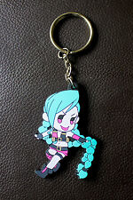 league of legends Jinx Keychain Online Gaming
