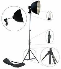 Kit S27Kit Illuminatore Studio con Stativo Portalampada Riflettore Foto Video