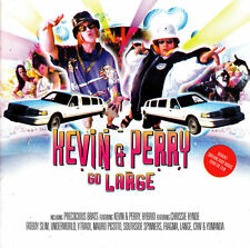 VARIOUS ARTISTS 'KEVIN & PERRY GO LARGE' 2 DISC CD ALBUM 2000