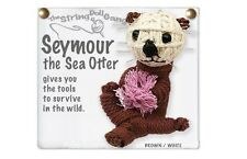 Kamibashi Seymour the Sea Otter The Original String Doll Gang Keychain Clip