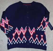 ~NWT Women's TOMMY HILFIGER Pea Coat Sweater! Size XL Nice $90 FS:)
