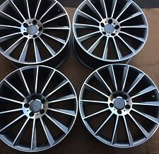 "SET OF FOUR 20"" x8.5 9.5 WHEELS RIMS for MERCEDES S550 S55 S65 S600 S63 AMG NEW"
