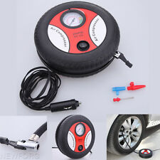 Mini Portable Electric Air Compressor Pump Car Tire Inflator DC 12V 260PSI 13A