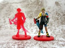 Final Fantasy X Coca Cola Promo Figure Tidus Color & Crystal set