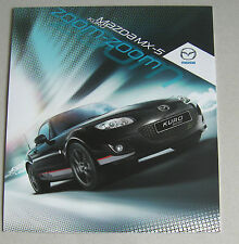 MAZDA MX-5 KURO 2012 RANGE CAR BROCHURE. SPECIAL EDITION ROADSTER & SOFT TOP MX5