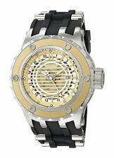 @NEW Invicta Reserve 52mm Subaqua Specialty Quartz GMT Rubber Strap 16820