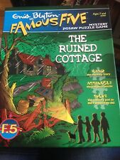 Enid Blyton Famous Five Mystery Jigsaw The Ruined Cottage Complete MINT