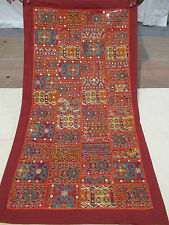 Indian Wall Hanging Vintage Style Patchwork Tapestry