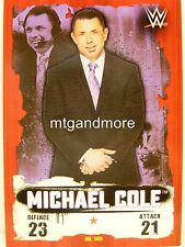 Slam Attax Takeover - #145 Michael Cole