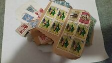 Canceled Postage Stamps Switzerland and Barbados  lot of 104