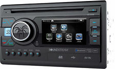 "SOUNDSTREAM VR-346B DOUBLE 2 DIN DVD/CD/MP3 PLAYER 3.4"" MONITOR BLUETOOTH USB SD"