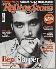 Rivista ROLLING STONE ANNO 2004 NUMERO 14 - BEN HARPER -  MICK JAGGER