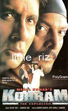 KOHRAM - 1999 Rare Bollywood Indian Cassette (not CD) Amitabh Bachchan Nana