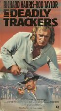 The Deadly Trackers (VHS) Richard Harris - Rod Taylor