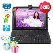 "32GB 10.1"" inch Android 5.1 HDMI WIFI Quad Core Google Tablet PC Keyboard Bundle"