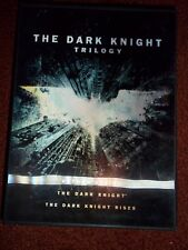The Dark Knight Trilogy DVD Set Batman Begins Dark Knight Rises