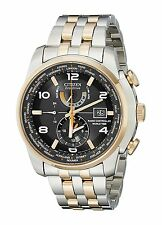 Citizen Eco-Drive Men's AT9016-56H Atomic Dual-Time Perpetual Calendar Watch