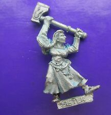 sister of Sigmar Mordheim Citadel gw games workshop sisters female cleric #A