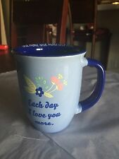 Each Day I Love You More And More TMD Holdings Coffee Mug New