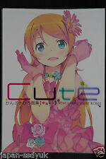 "JAPAN Hiro Kanzaki Art Book ""Cute"" OREIMO & 1999 - 2007 Art Works"