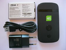 ZTE MF90+ Hotspot WiFi LTE WLAN Modem 4G 3G Wireless Mobile Router OHNE SIMLOCK