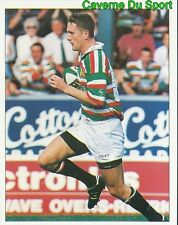 274 WILL GREENWOOD LEICESTER TIGERS  STICKER PREMIER DIVISION RUGBY 1998 PANINI