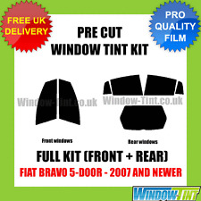 FIAT BRAVO 5-DOOR 2007+ FULL PRE CUT WINDOW TINT KIT
