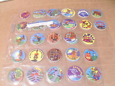 POGS JETTY EDDIE COMPLETE SET of 48 in PAGES #47 needs upgrade