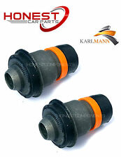 For RENAULT MEGANE SCENIC 02  FRONT NEW SUBFRAME BUSHS X2 By Karlmann