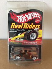 Hot Wheels Real Riders '50s CHEVY TRUCK 1950s Red line Club