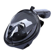 Diving Swimming Surface Anti-Fog Mask Full Face Snorkel Scuba forGoPro Black S/M