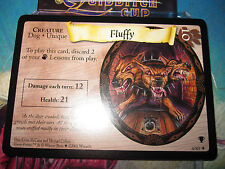 HARRY POTTER TRADING GAME TCG QUIDDITCH CUP FLUFFY 10/80 RARE ENGLISH MINT NEUF