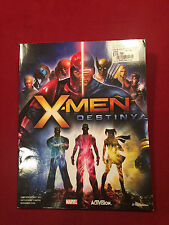 X-Men Destiny Marvel Strategy Game Guide Brady Games Book