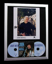 JOHN MAYALL+SIGNED+FRAMED+TURNING POINT+CALFORNIA=100% GENUINE+FAST GLOBAL SHIP