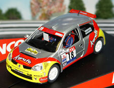 Ninco 50337 Renault Clio Super 1600 Rally Slot Car 1/32 for Scx Scalextric Carre