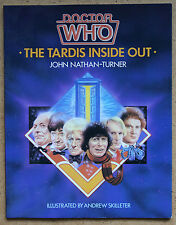 Doctor Who The TARDIS Inside Out  John Nathan-Turner SC Book 1985 VGC