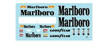F1 DECALS MUSEUM COLLECTION D225 1/18 MCLAREN MP4/7 TOBACCO