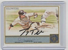 TROY TULOWITZKI Signed 2011 Topps Allen & Ginter #150 Autograph ON CARD AUTO