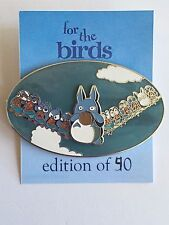 For the Birds My Neighbor Totoro Chu Totoro Chibi Totoro Disney Fantasy Pin LE
