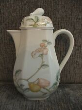 "Villeroy & Boch Fruit Garden Coffee Pot 6"" Tall Heinrich Germany EUC"