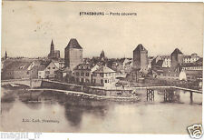 67 - cpa - STRASBOURG - Les ponts couverts (H6733)