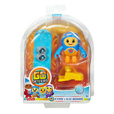 Go Jetters Click On Figure - Kyan & G.O. Board  *BRAND NEW*