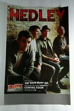 HEDLEY THE SHOW MUST GO PHOTO DOUBLE SIDED PROMO 11x17 MUSIC POSTER