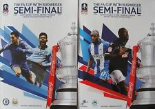 FA CUP SEMI FINAL 2013: Set of BOTH official programmes
