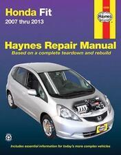 Honda Fit 2007 thru 2013 (Haynes Repair Manual), Editors of Haynes Manuals, New