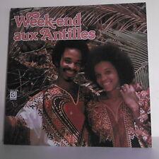 """2 x 33T WEEK END ANTILLES Disque LP 12"""" CHANTEURS ISLES VENT - AL LIRVAT WABAP"""