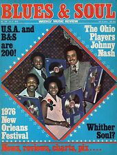 Gladys Knight & The Pips Blues & Soul Issue 200 1976   Johnny Nash  Ohio Players