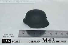 1/6 Scale Soldier Story WWII Germans M42 Metal Helmet Hat Cap Figure Model