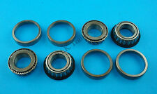 "FREE P&P* 2 x Wheel Bearings L44643 L44610 to fit 1"" Axle for Unbraked Trailers"