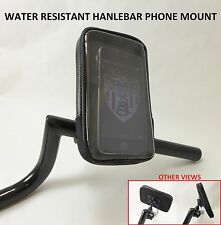 Cell Phone Handlebar Mount Holder Water Resistant Iphone Apple Droid Bike Buell
